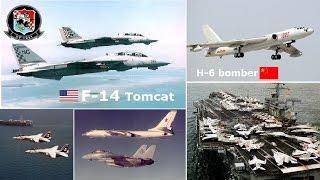 getlinkyoutube.com-挑戰新聞軍事精華版--解放軍作戰專家稱:2000年美中南海對峙,「F-14」戰機曾逼「轟-6」迫降