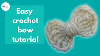 getlinkyoutube.com-How to Crochet a Bow