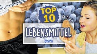 Meine Top 10 LEBENSMITTEL | Sophia Thiel