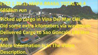 getlinkyoutube.com-ETS2 1.20.1s MAPA BRASIL TOTAL v4.4 6863km Truck run