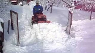 Kubota B6000 Snow Plow