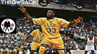 getlinkyoutube.com-Shaquille O'Neal LSU Full Highlights vs Indiana 1992 2nd Rd 36 Pts 12 Rebs 5 Blks LAST COLLEGE GAME