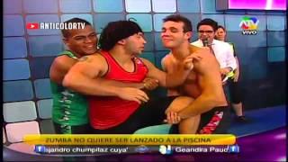 COMBATE Zumba Beso a La Pantera Zegarra 06/12/13