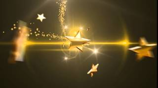 HD футаж ПЕРЕХОД ЗОЛОТЫЕ ЗВЕЗДЫ 2 2016 TRANSITION GOLD STARS монтаж  Adobe Premiere