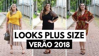 3 Looks PLUS SIZE para o verão // por Ana Luiza Palhares ❤️