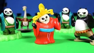 getlinkyoutube.com-5 Kinder Surprise Kung fu Panda 3 Surprise Eggs Toys Chocolate eggs Кунг Фу Панда 3 Киндер Сюрприз