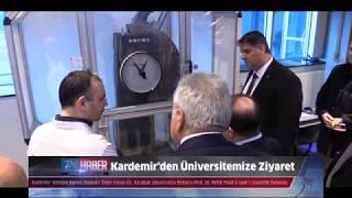 Kardemir Yönetim Kurulu Başkanı Öz'den Rektör Polat'a ziyaret