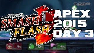 getlinkyoutube.com-Super Smash Flash 2 Beta Apex 2015 Day 3