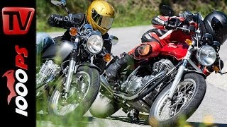 getlinkyoutube.com-Royal Enfield Continental GT vs Yamaha SR 400 | Vergleichstest