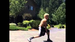 Carson Lueders - Playing Basketball