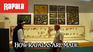 How Rapala® lures are made: Made For The Outdoors