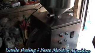 getlinkyoutube.com-Garlic Peeling Machine from  BAJAJ PROCESSPACK LIMITED