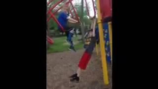 getlinkyoutube.com-Kid Accidentally Pulls Boys Pants Down At Park