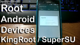 getlinkyoutube.com-Tutorial - Root Android devices with KingRoot and replace with SuperSU