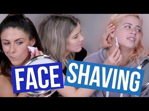 SHAVING Our Faces?! (Beauty Break)