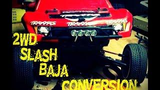 getlinkyoutube.com-2wd Slash Baja Conversion