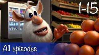 getlinkyoutube.com-Booba - Compilation of All 15 episodes + Bonus - Cartoon for kids