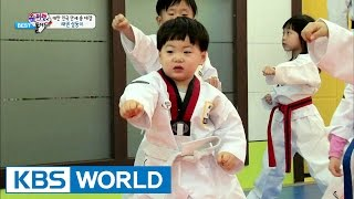 getlinkyoutube.com-The Return of Superman - Triplets and Taekwondo