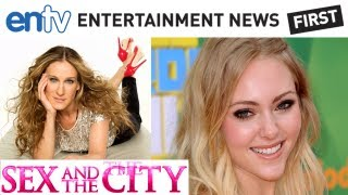 SEX AND THE CITY CAST: AnnaSophia Robb as Carrie Bradshaw in Carrie Diaries: ENTV