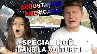 getlinkyoutube.com-♡ DÉGUSTATION AMÉRICAINE DANS UNE VOITURE ! ♡