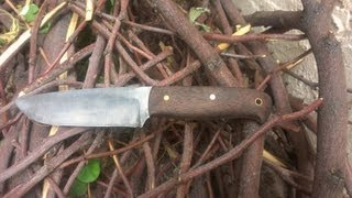 getlinkyoutube.com-How to make a custom knife