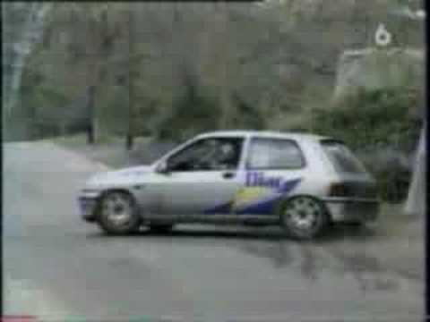 essai de la clio williams m6 turbo