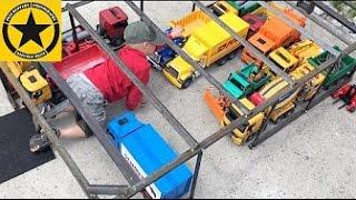 getlinkyoutube.com-BRUDER TOYS TRUCK Logistics CENTER long play!