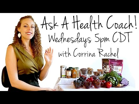 Ask a Health Coach! LIVE Q&A with Corrina: Weight Loss, Fitness, Diets, Nutrition, ASMR