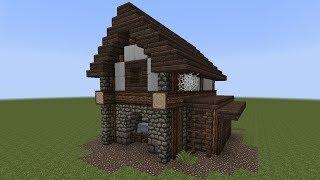 getlinkyoutube.com-Minecraft Tutorial - Einen kleinen Stall bauen
