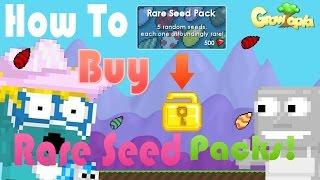 getlinkyoutube.com-GrowTopia   How to make profit from Rare seed packs!