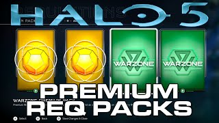 getlinkyoutube.com-Halo 5: Guardians - Warzone PREMIUM REQ Pack Opening Week 3!