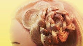 getlinkyoutube.com-3分でデキる超簡単三つ編みヘアアレンジ