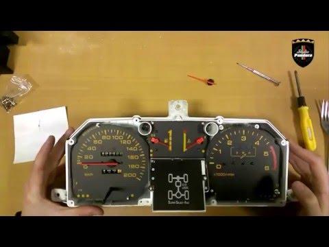 Как разобрать приборную панель Mitsubishi Pajero 2