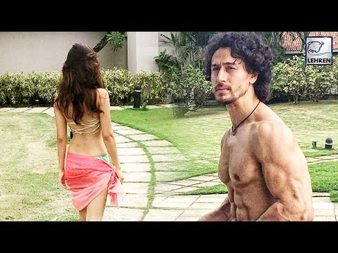 Tiger Shroff and Disha Patani  In Bikini Spotted Romancing on Vacation