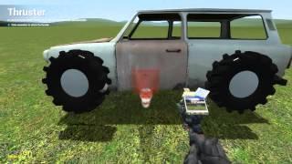 getlinkyoutube.com-Garry's Mod - How to make a car EASY