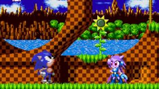 getlinkyoutube.com-Mugen 16 bit sonic intro: Vs Lilac