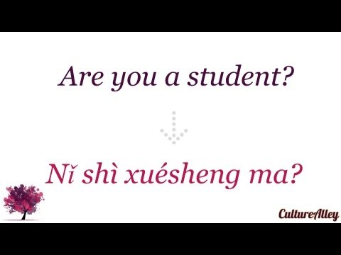 Basic Mandarin Chinese | Lesson 8 | Asking others what they do!