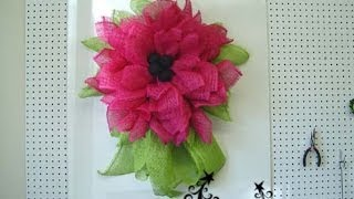 getlinkyoutube.com-Trendy Tree Deco Paper Mesh Flower Video
