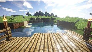 Minecraft PE 0.15.2 : Shaders แจกตัวเกมมีแสงเงาและใบไม้ขยับ