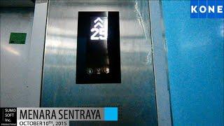 getlinkyoutube.com-Brand New Kone Polaris Lifts at Menara Sentraya, Jakarta (Low)