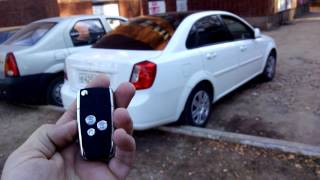 getlinkyoutube.com-Выкидной ключ для Daewoo Gentra/Chevrolet Lacetti