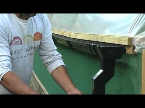 How to harvest rainwater from a Polytunnel?