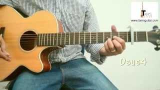 getlinkyoutube.com-Tomar jonno nilche tara guitar lesson (Beginners+Intermediates)