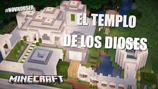 getlinkyoutube.com-EL TEMPLO DE LOS DIOSES | CASAS DE MINECRAFT EN #NOVHOUSER (SUBS)