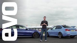 getlinkyoutube.com-BMW M3 v Mercedes-Benz C63 S AMG | evo DEADLY RIVALS