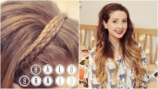 getlinkyoutube.com-How To: Halo Braid | Zoella