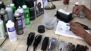 getlinkyoutube.com-Wahl Balding Clipper - How to Sharpen Clippers by David Warren
