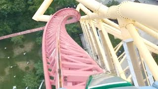 Top Thrill Dragster POV Cedar Point Front Row