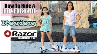 HOW TO RIDE A HOVERBOARD + REVIEW