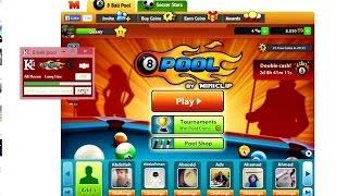 getlinkyoutube.com-طريقة تهكير لعبة   ball pool 8 تطويل سهم المساعدة